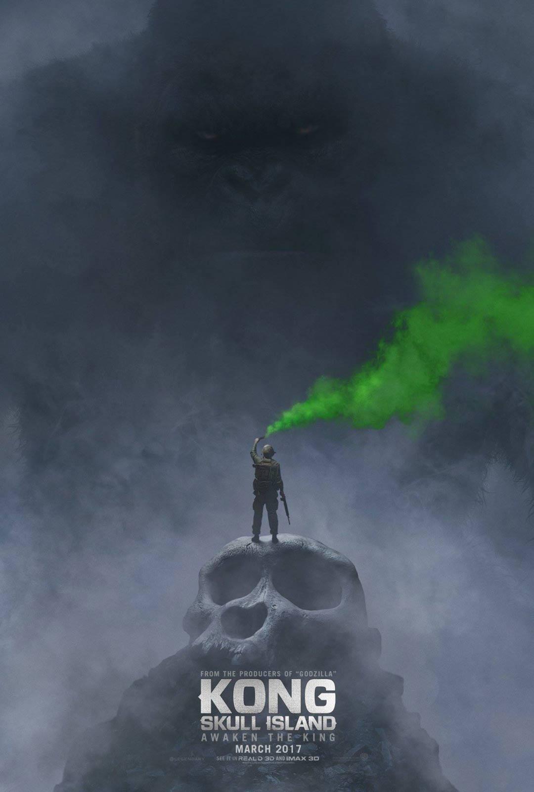 Kong: Skull Island Poster #1