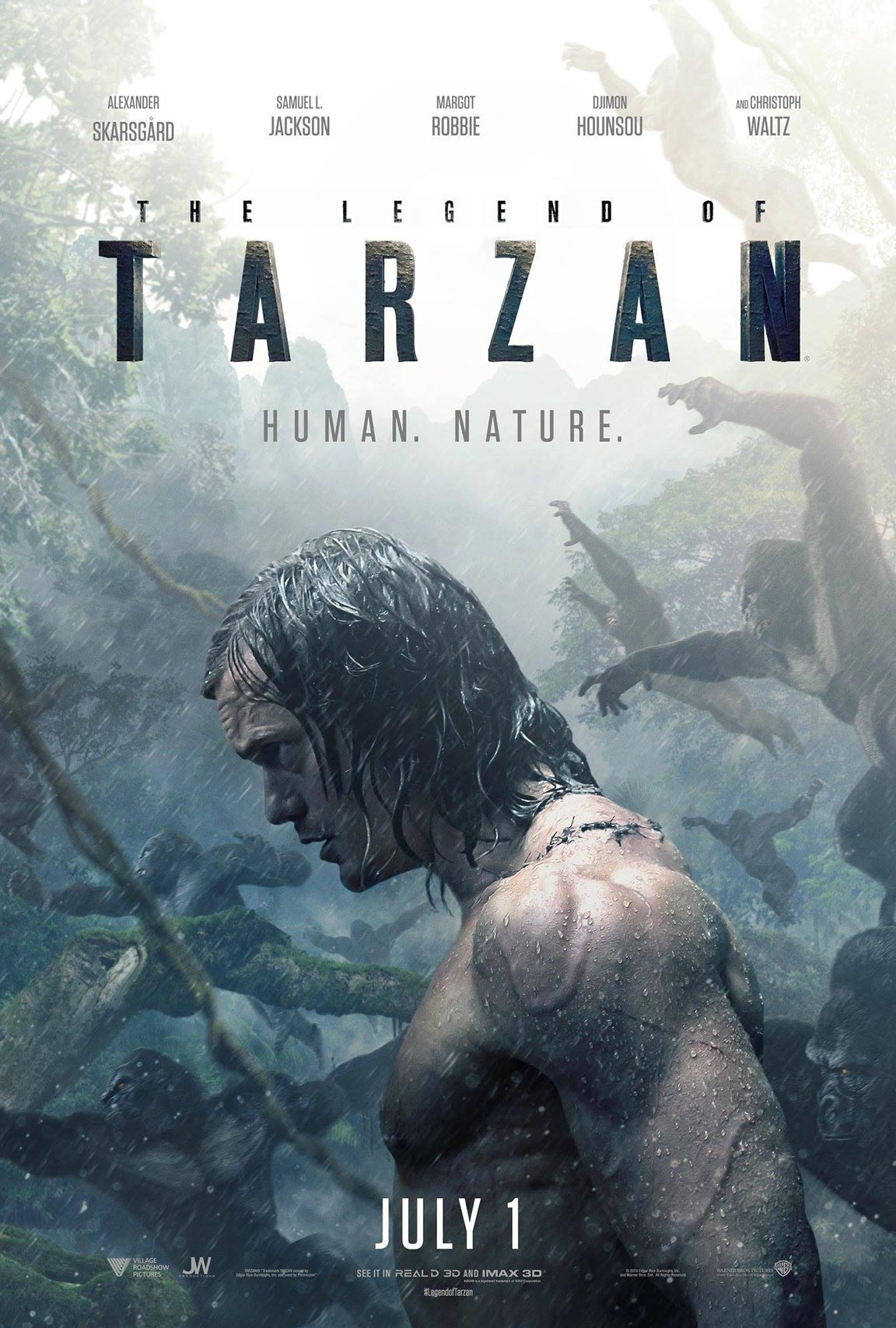 The Legend of Tarzan Poster #2