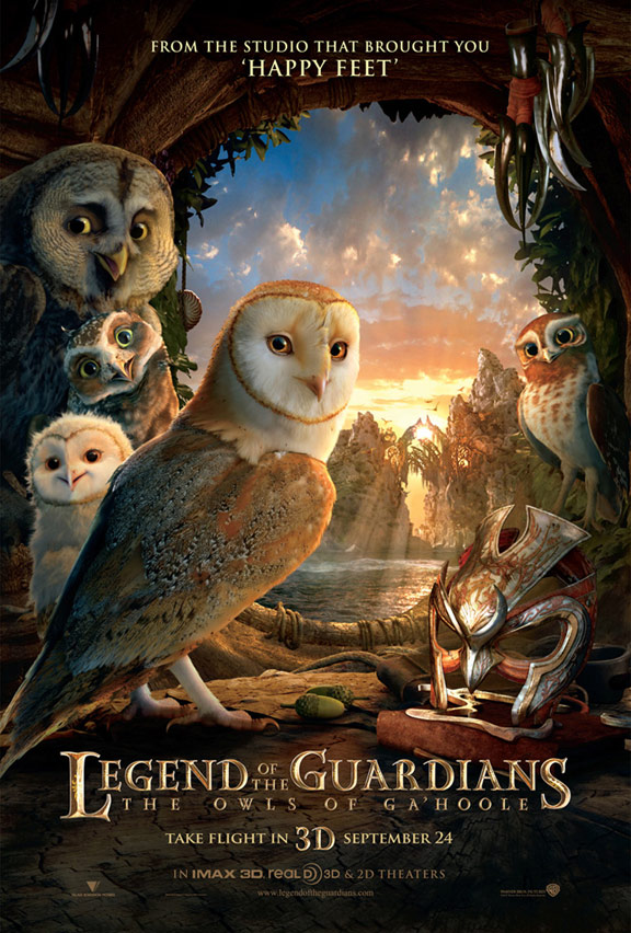 Legend of the Guardians Poster #10