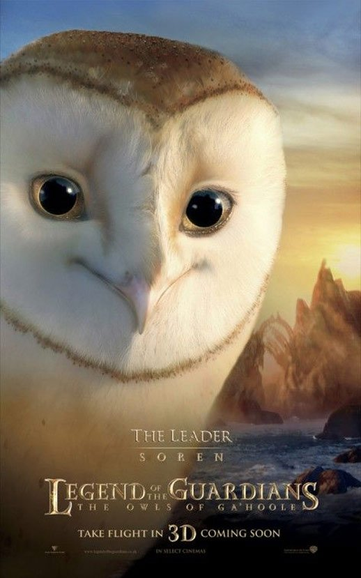 Legend of the Guardians Poster #3