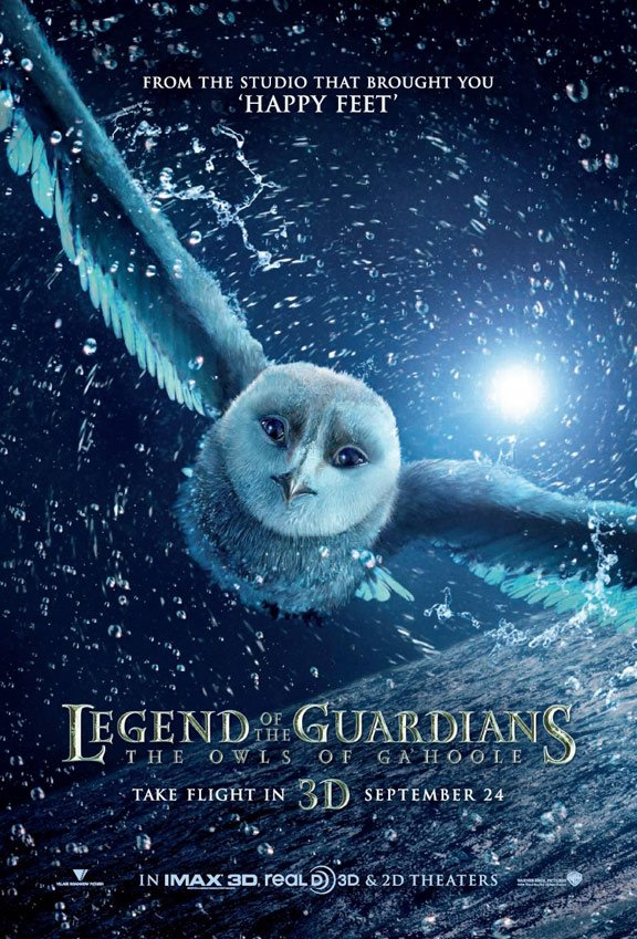Legend of the Guardians Poster #1