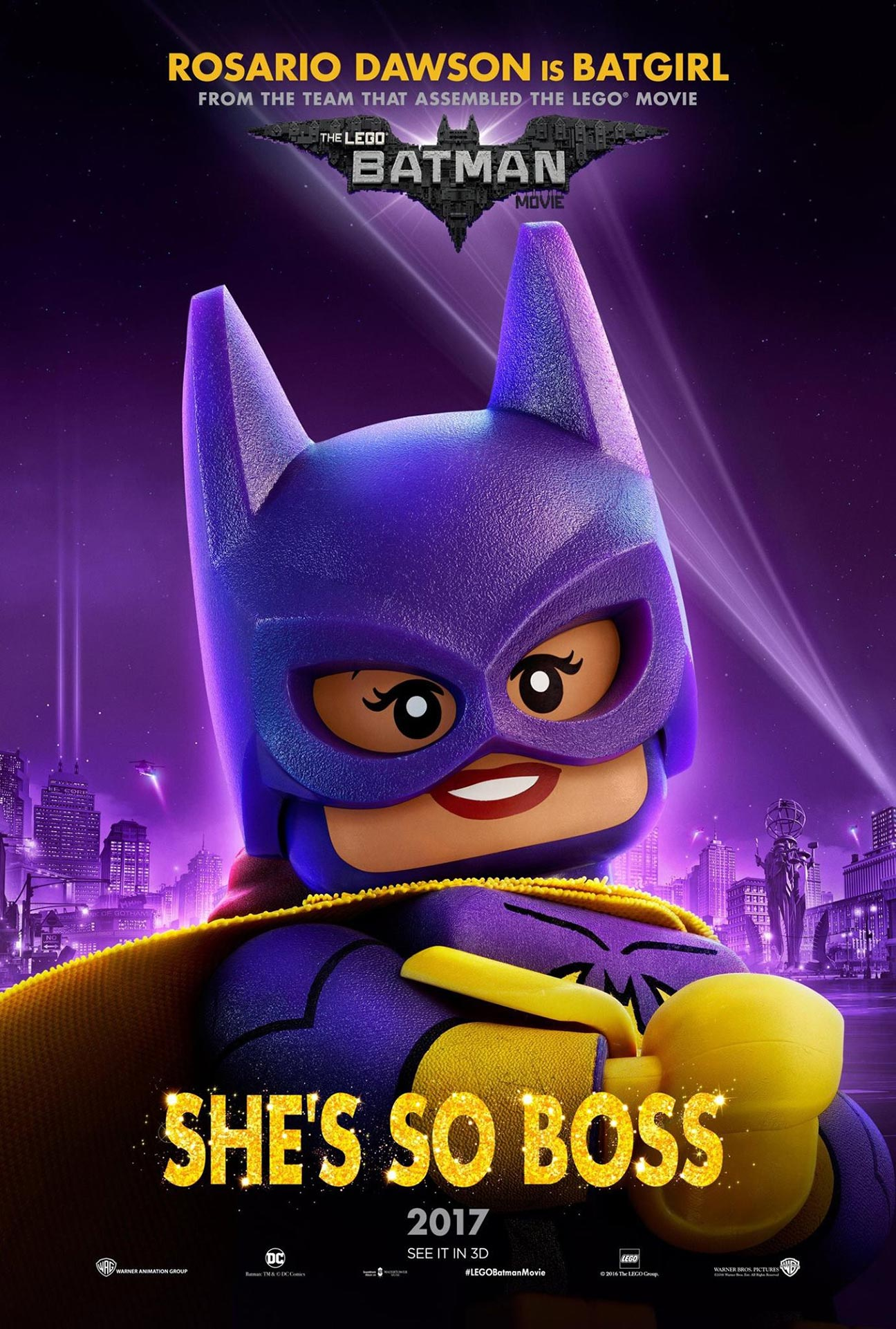 The Lego Batman Movie Poster #10