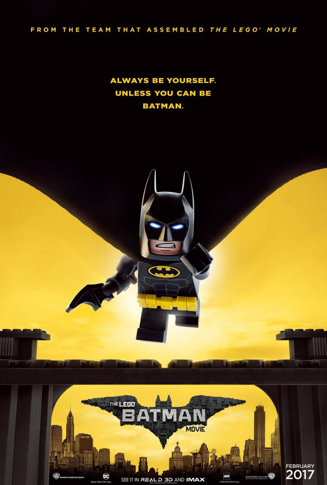 The Lego Batman Movie Poster #3