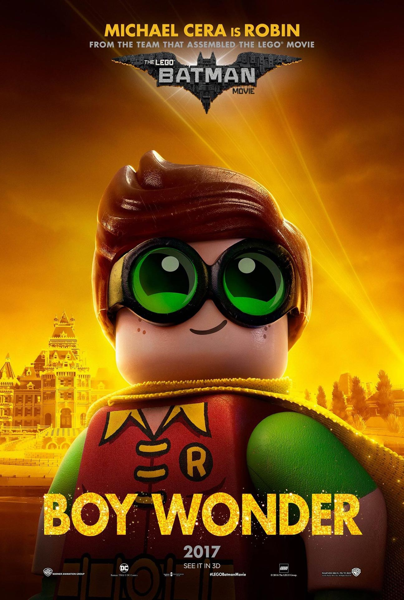 The Lego Batman Movie Poster #7