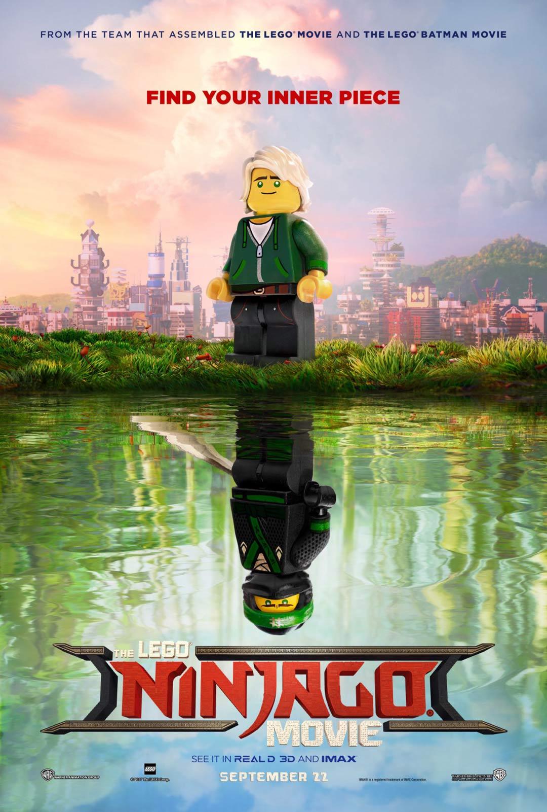 The Lego Ninjago Movie Poster #2