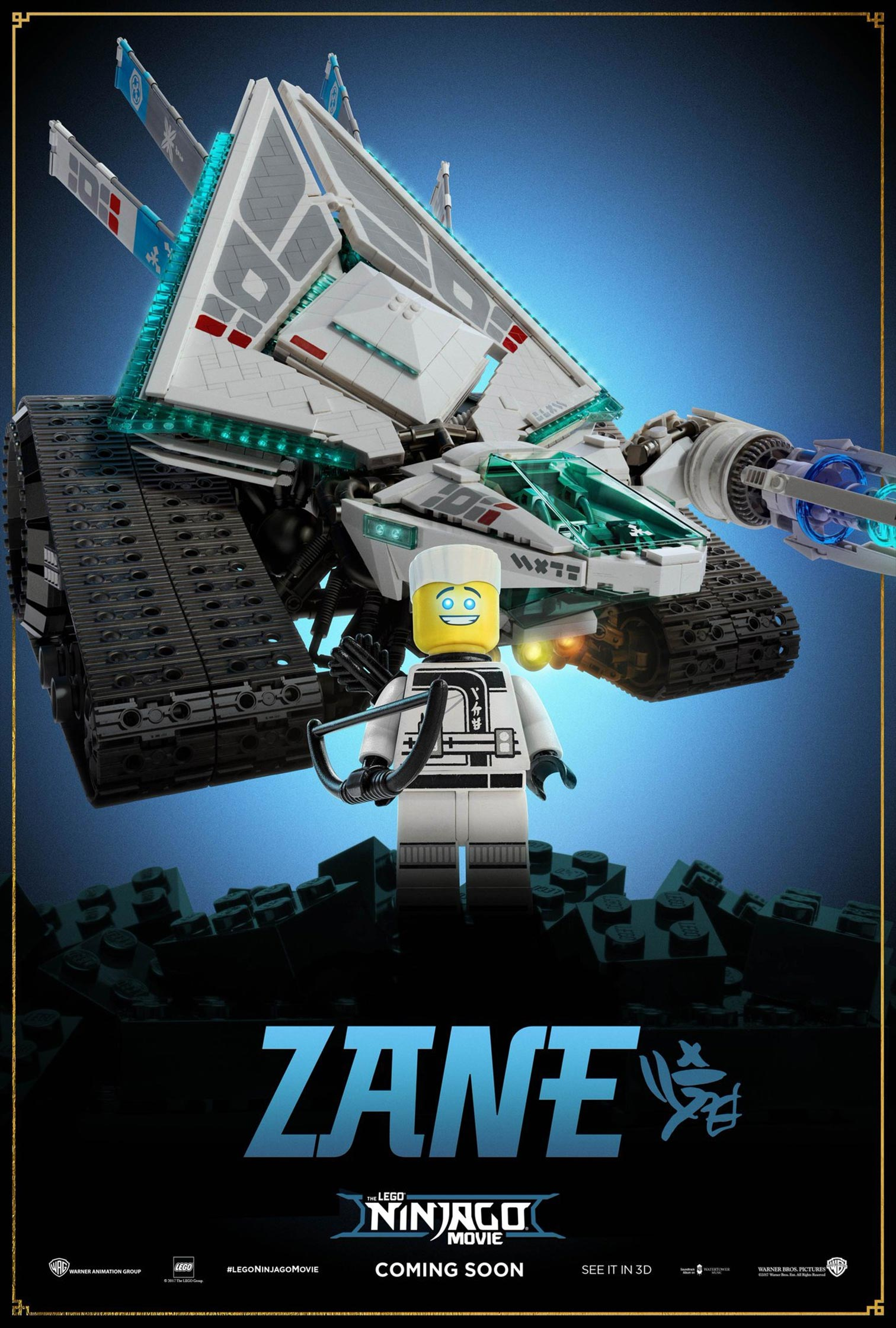 The Lego Ninjago Movie Poster #3