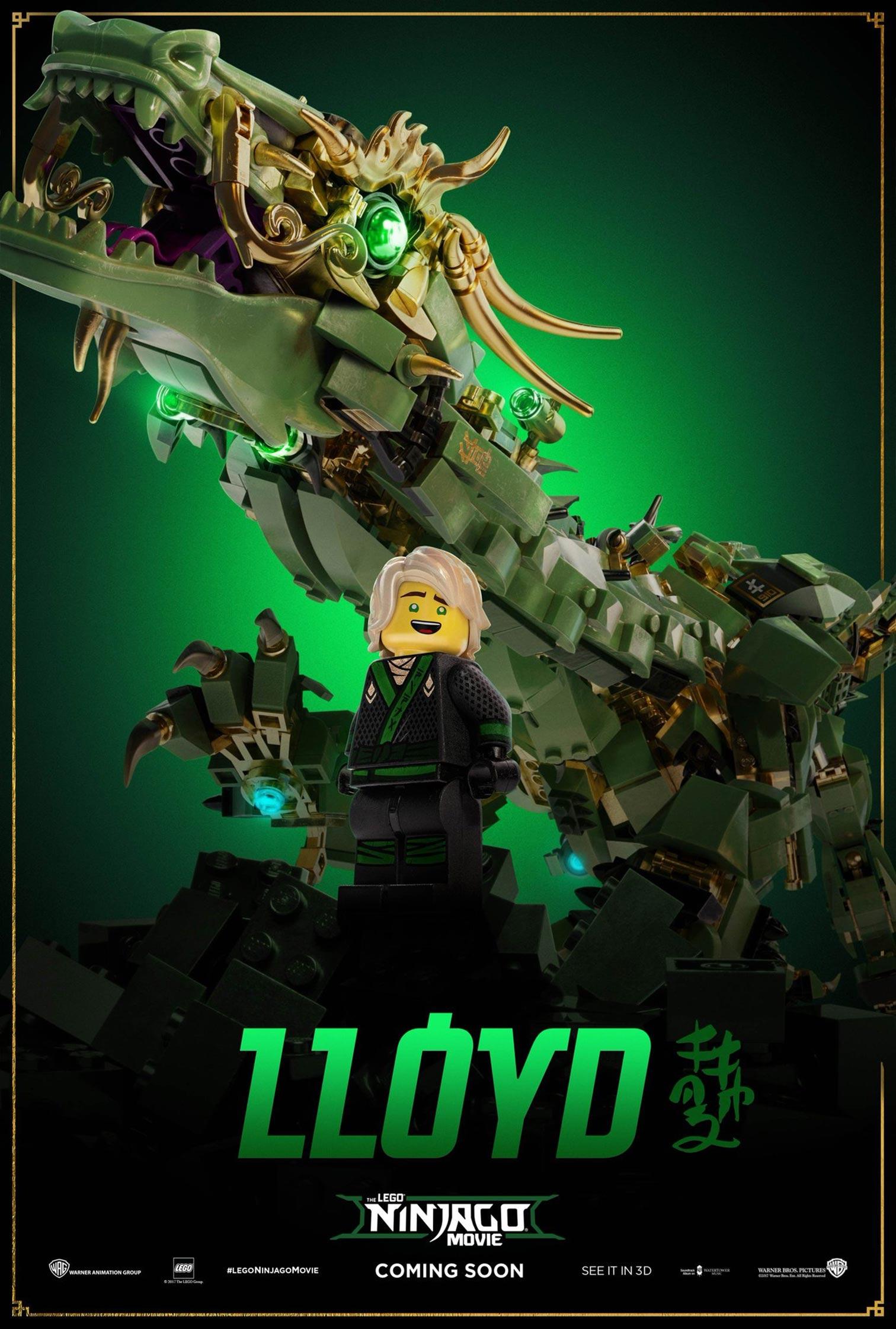 The Lego Ninjago Movie Poster #5