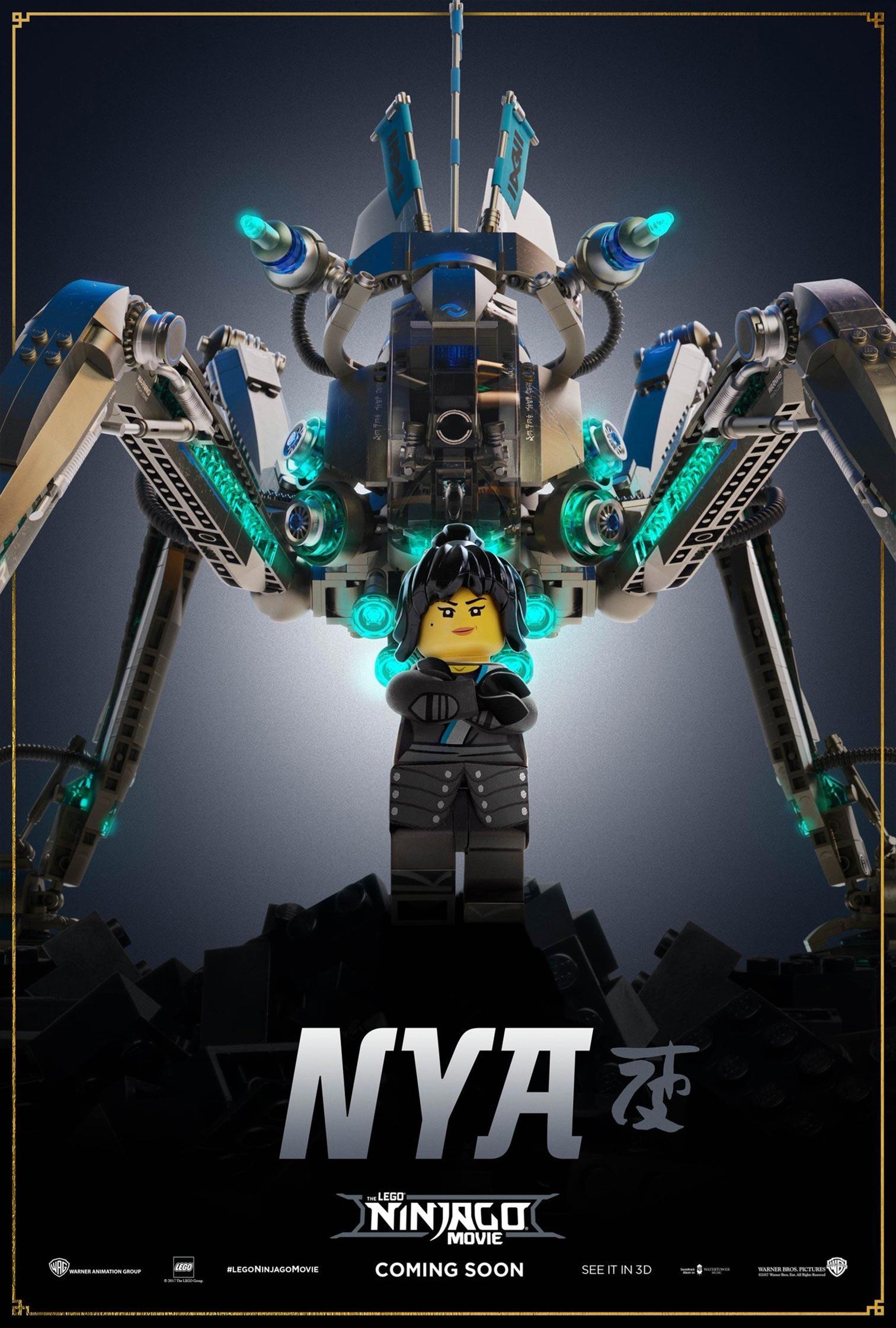 The Lego Ninjago Movie Poster #8