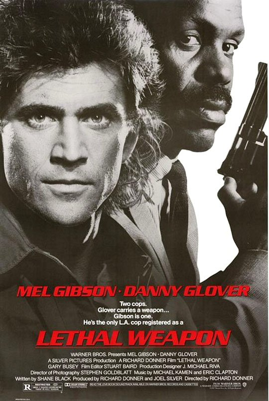 Lethal Weapon Poster #1