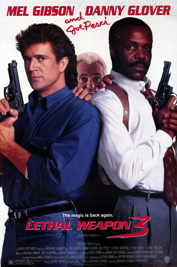 Lethal Weapon 3 Poster #1