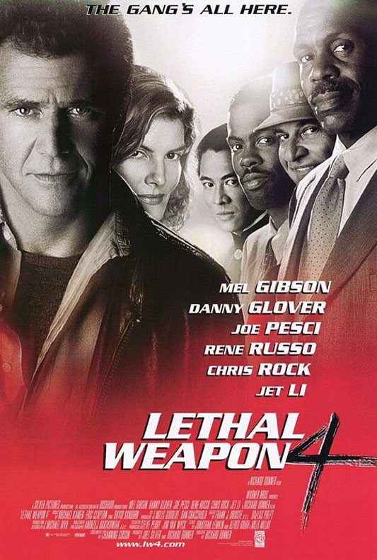 Lethal Weapon 4 Poster #1