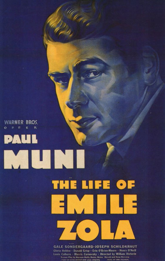 The Life of Emile Zola Poster #1