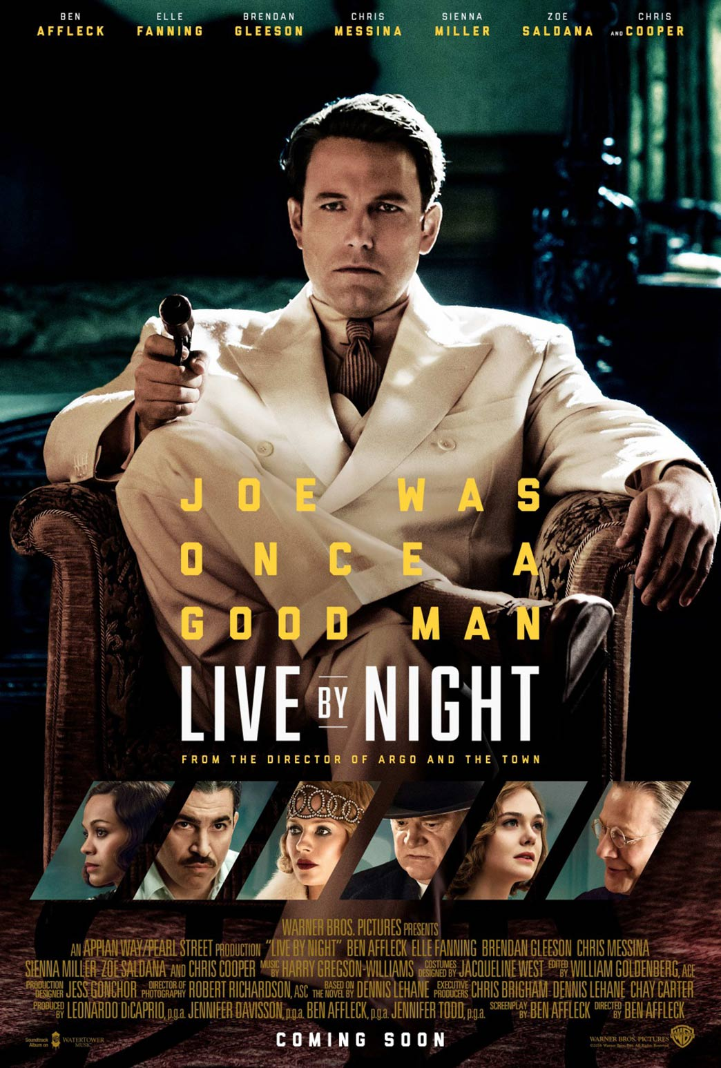 Live by Night Poster #2