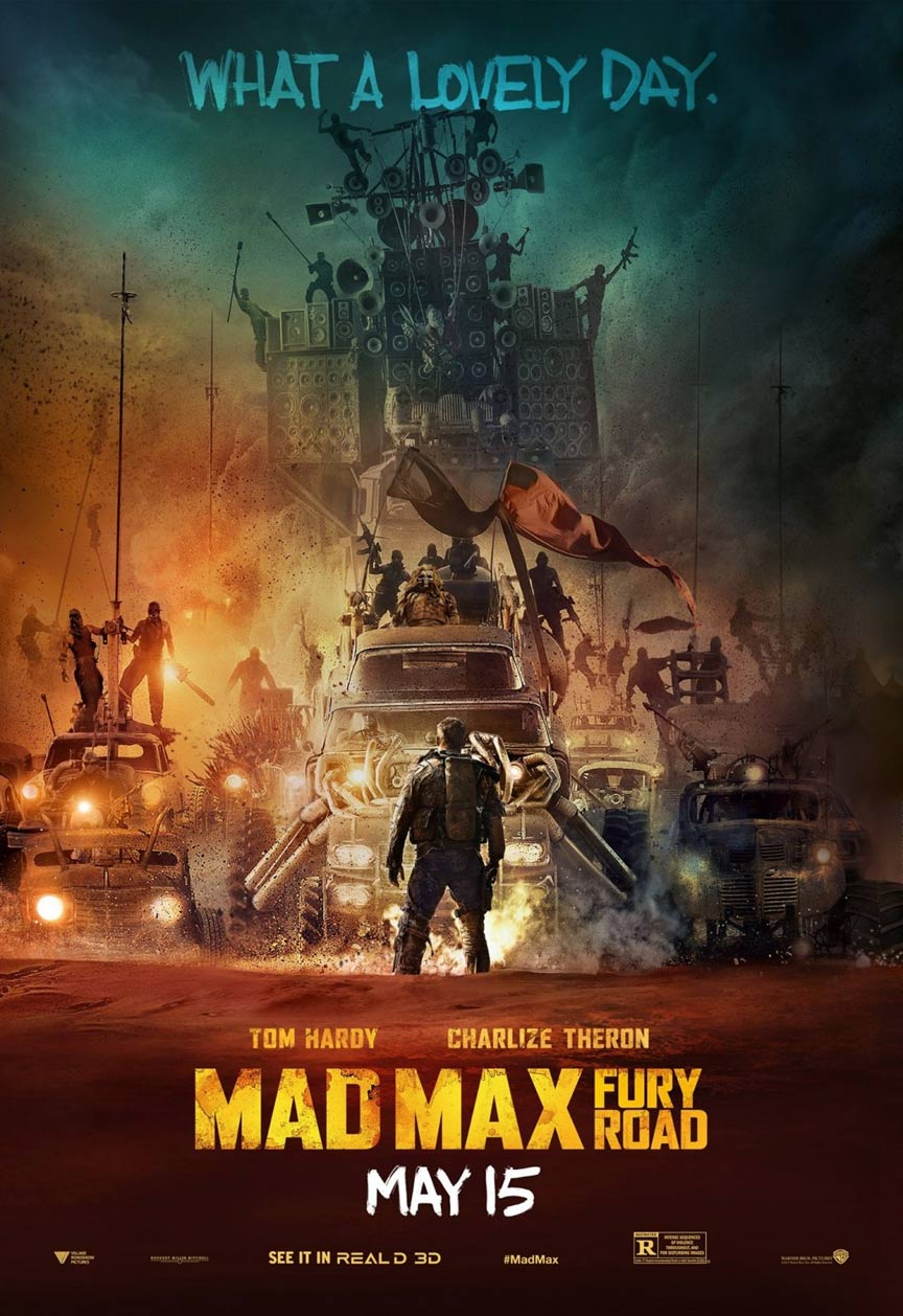 Mad Max: Fury Road Poster #10