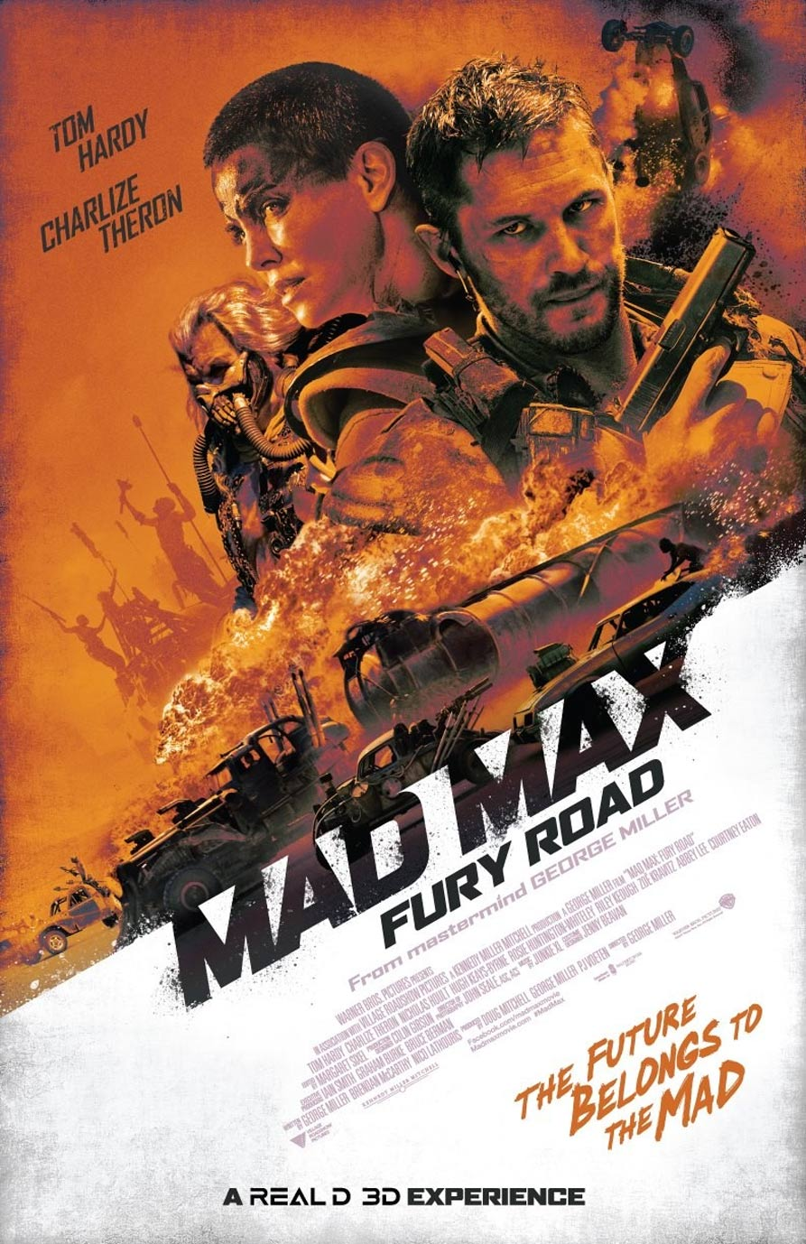 Mad Max: Fury Road Poster #12