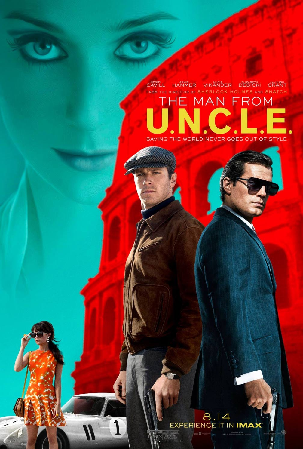 The Man from U.N.C.L.E. Poster #2