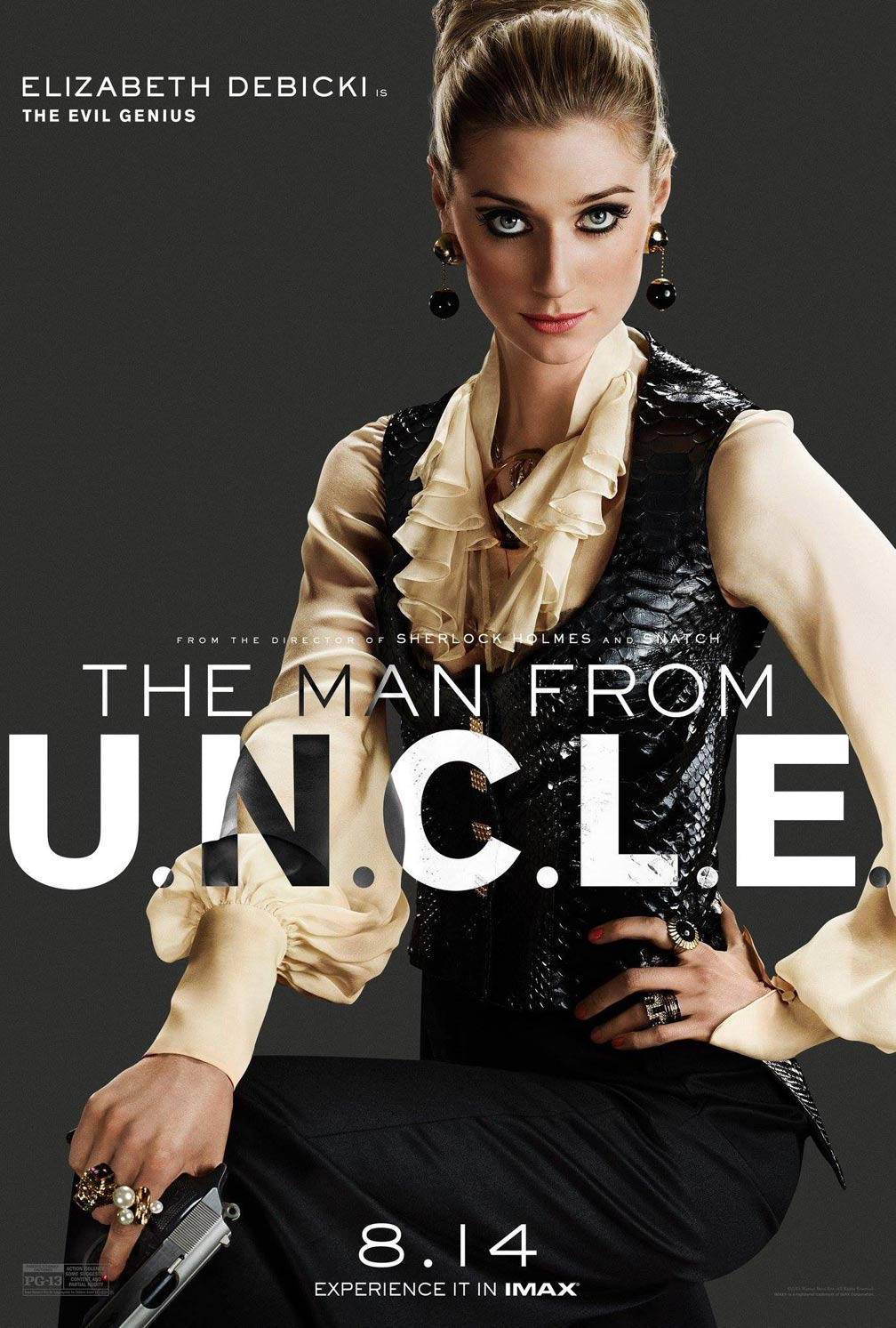The Man from U.N.C.L.E. Poster #4