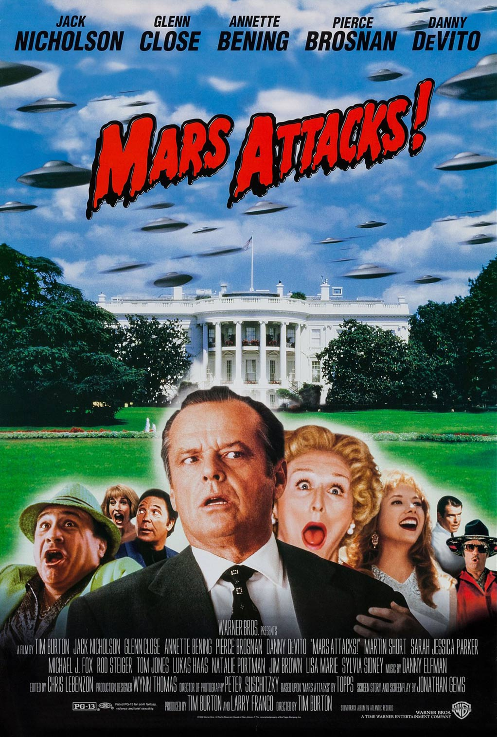 Mars Attacks! Poster #2