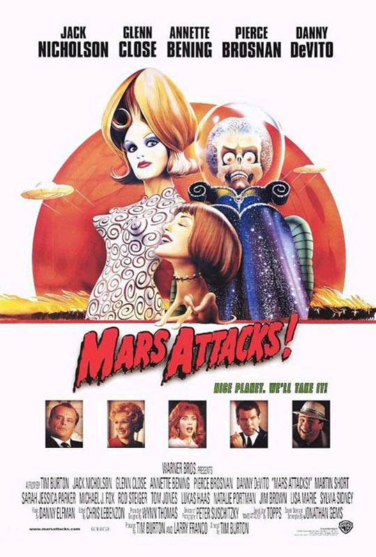 Mars Attacks! Poster #3