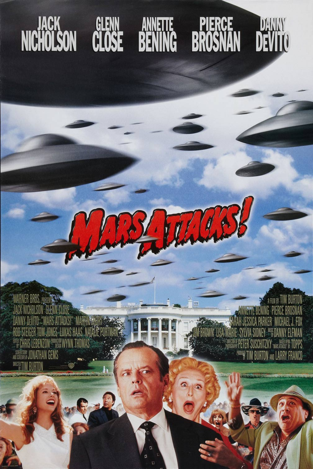 Mars Attacks! Poster #5