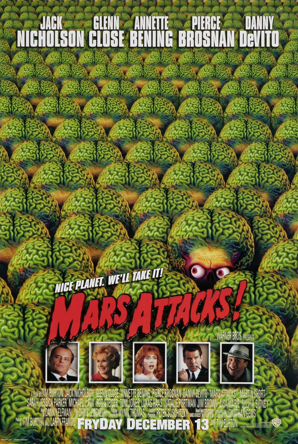 Mars Attacks! Poster #1