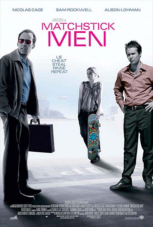 Matchstick Men Poster #1