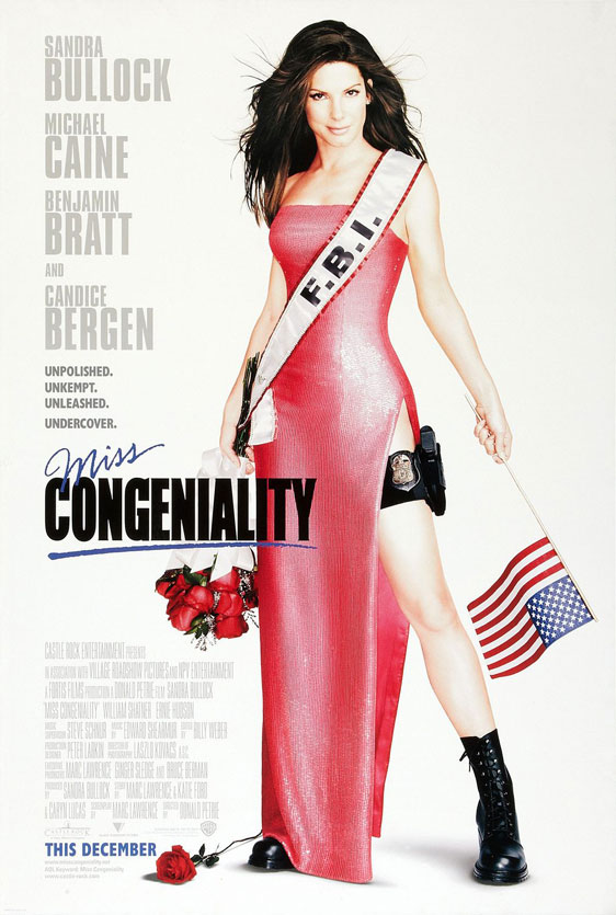 Miss Congeniality Poster #1