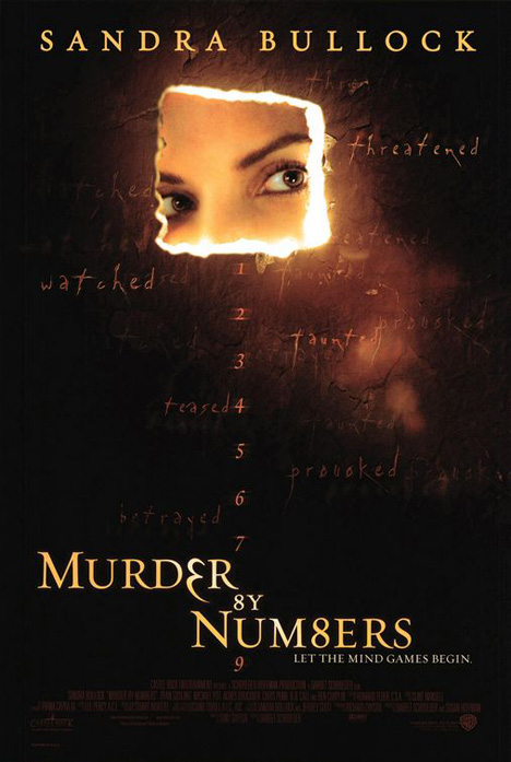 Murder by Numbers Poster #1