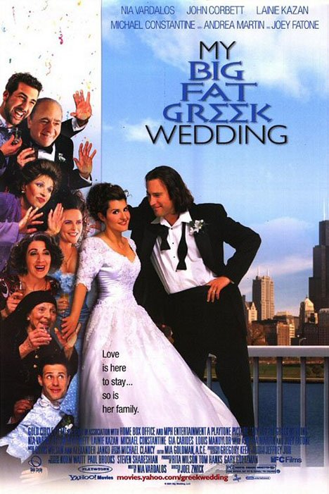 My Big Fat Greek Wedding Poster #1