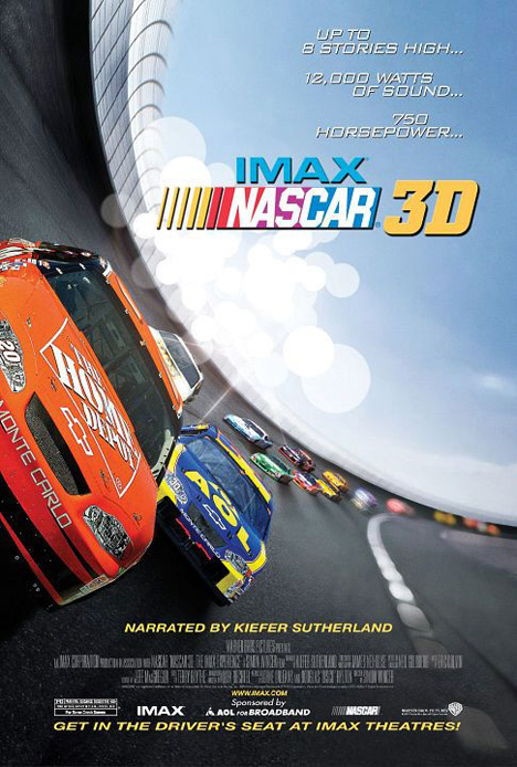 Nascar 3D: The IMAX Experience Poster #1