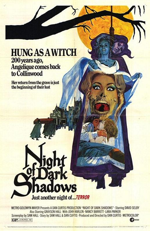 Night of Dark Shadows Poster #1