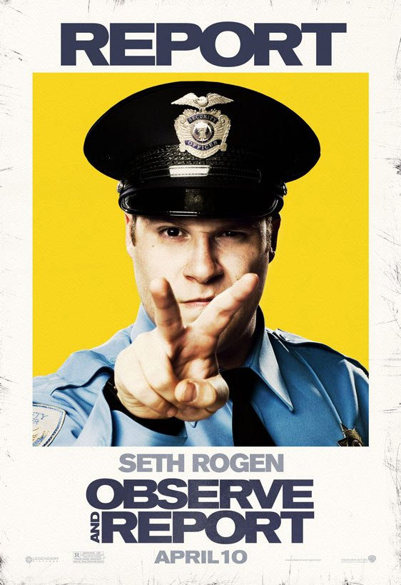 Observe and Report Poster #3