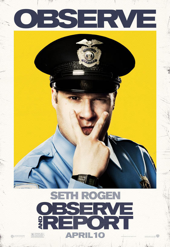 Observe and Report Poster #5