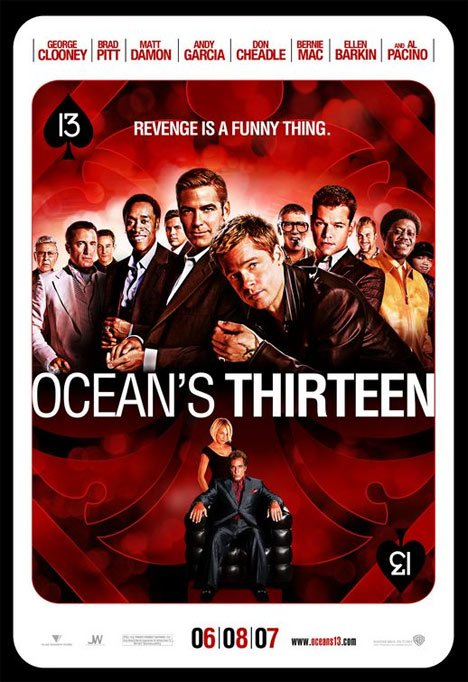 Ocean's Thirteen Poster #1