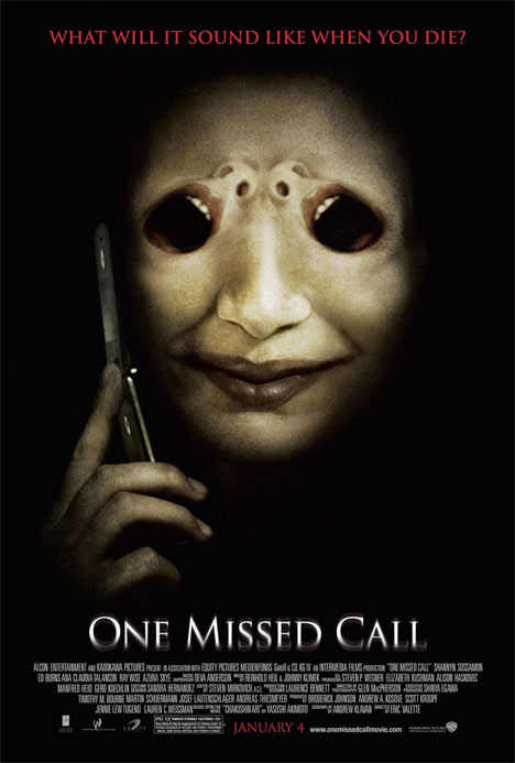 One Missed Call Poster #1