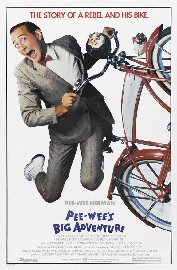 Pee-wee's Big Adventure Poster #1