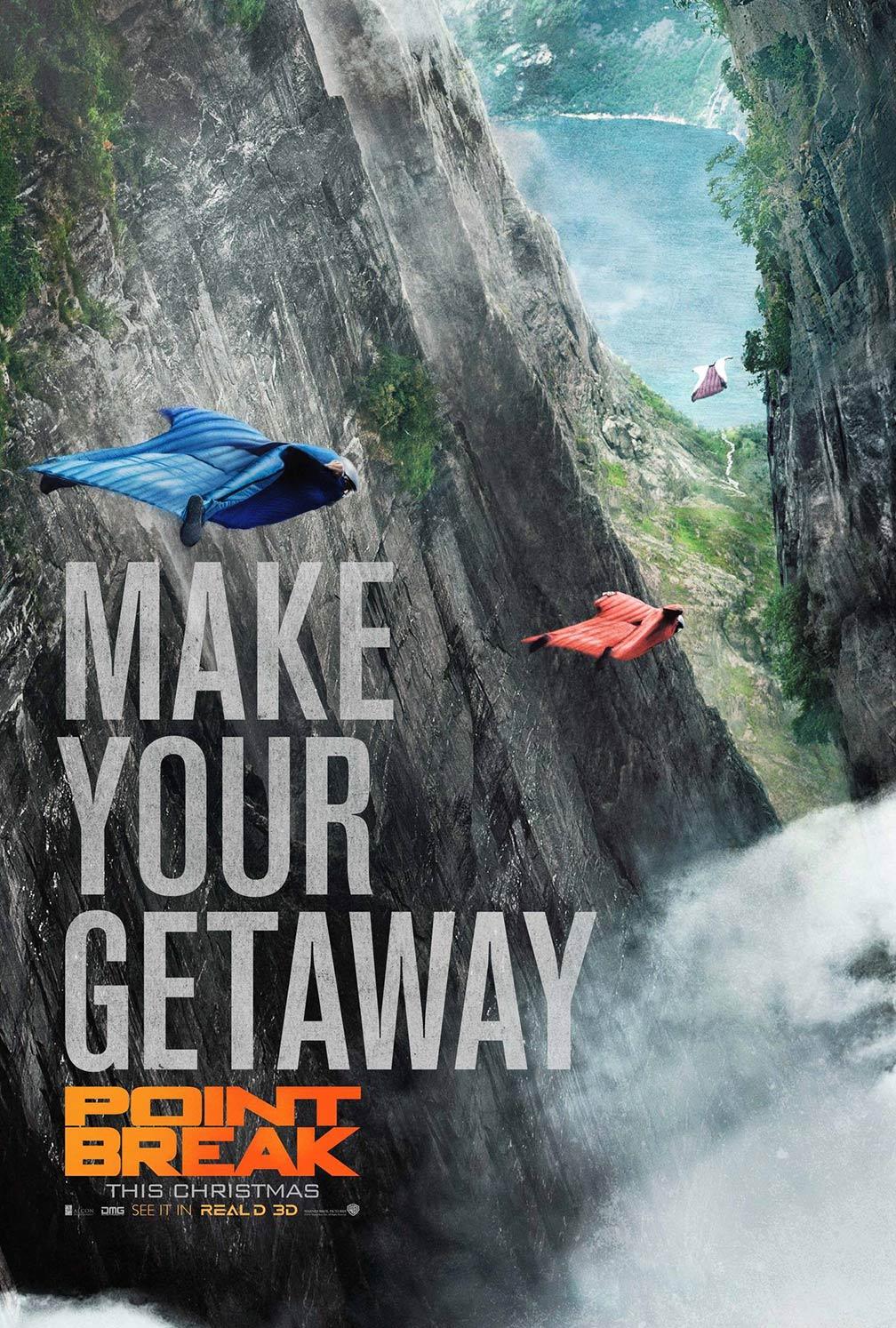 Point Break Poster #4