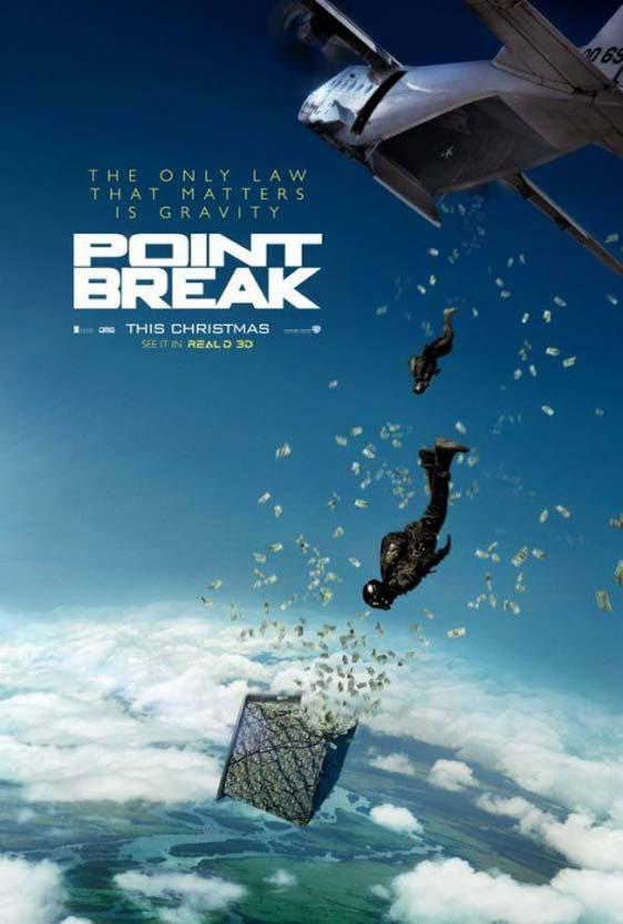 Point Break Poster #1