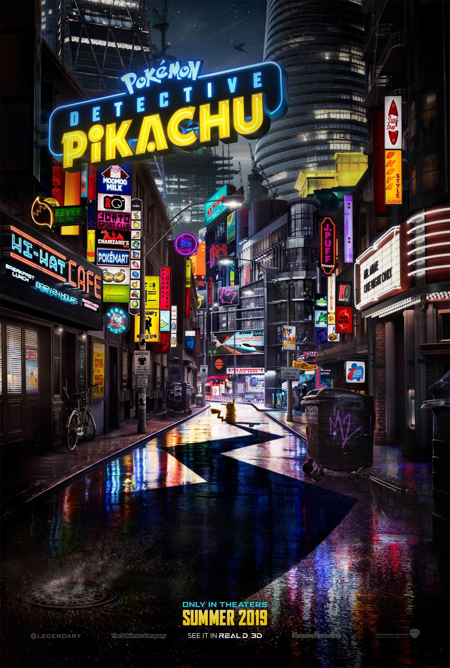 Pokémon Detective Pikachu Poster #1