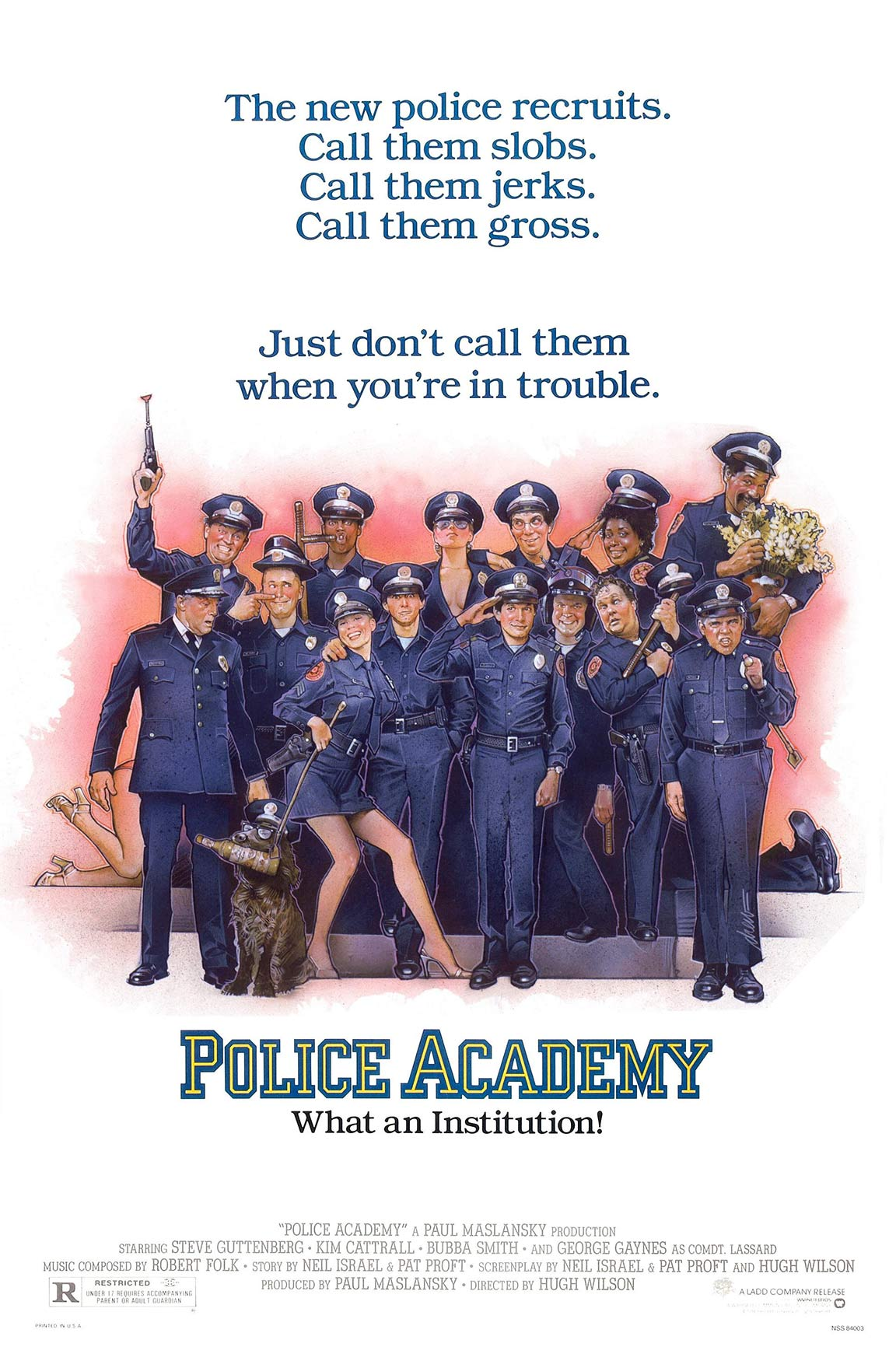 Police Academy Poster #1