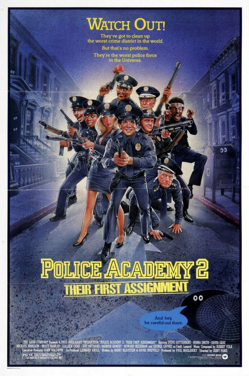 Police Academy 2: Their First Assignment Poster #1