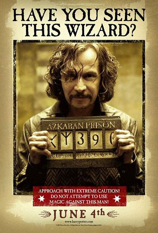 Harry Potter and the Prisoner of Azkaban Poster #7