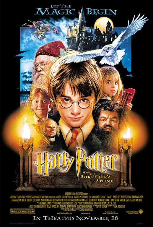 Harry Potter and the Sorcerer's Stone Poster #1
