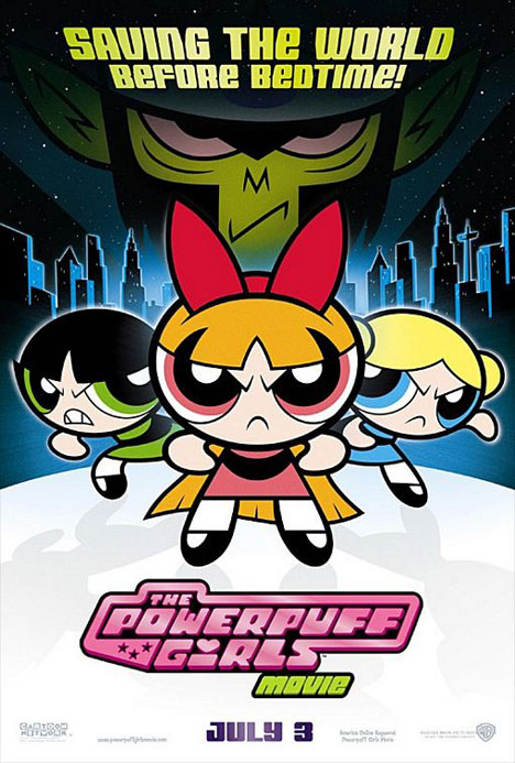 The Powerpuff Girls Movie Poster #1