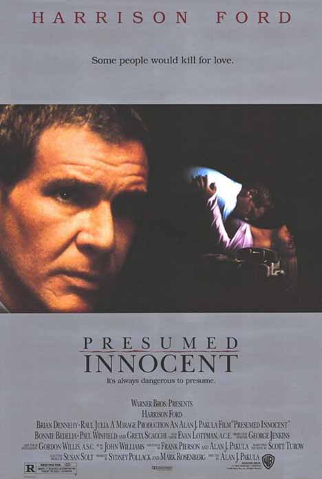 Presumed Innocent Poster #1