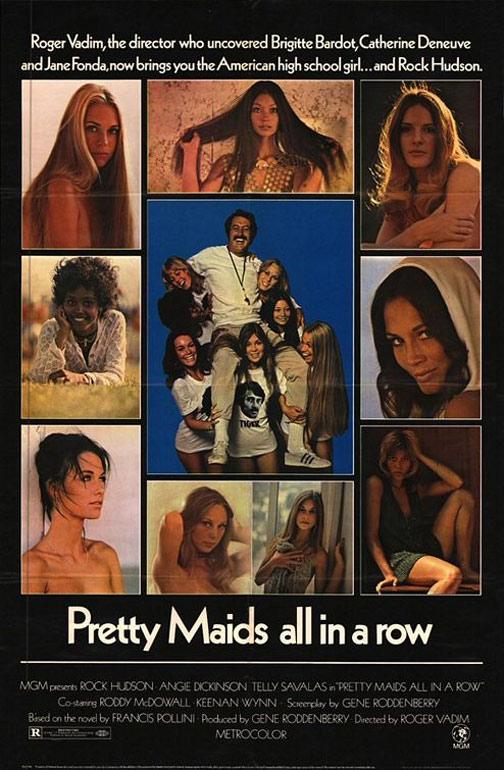 Pretty Maids All in a Row Poster #1