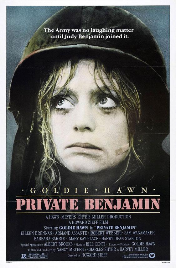 Private Benjamin Poster #1