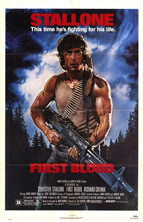 Rambo: First Blood Poster #1