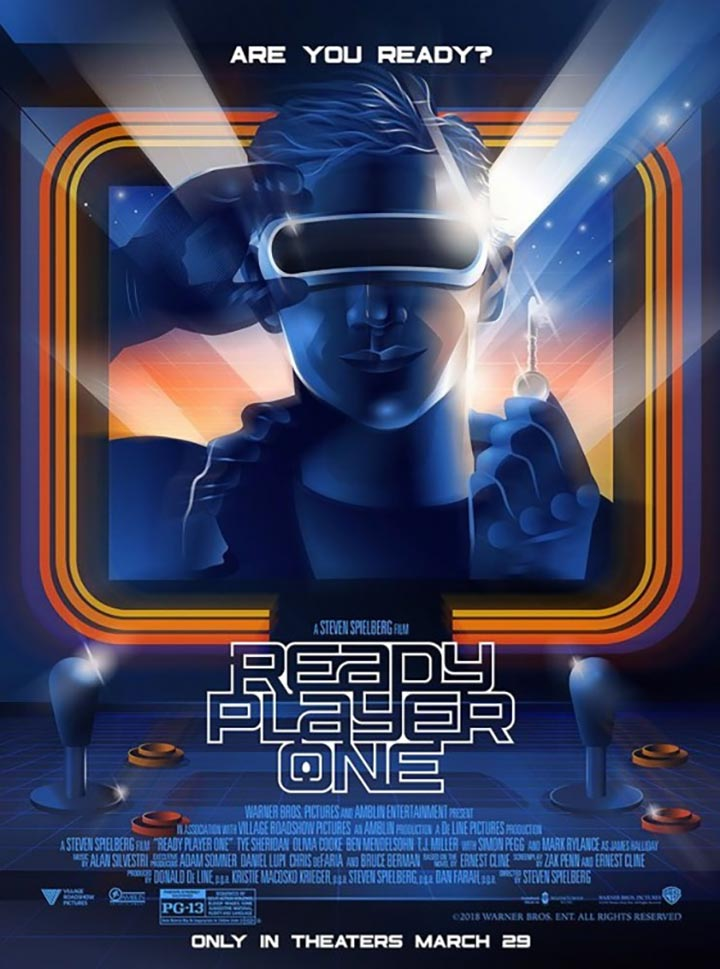 Ready Player One Poster #4