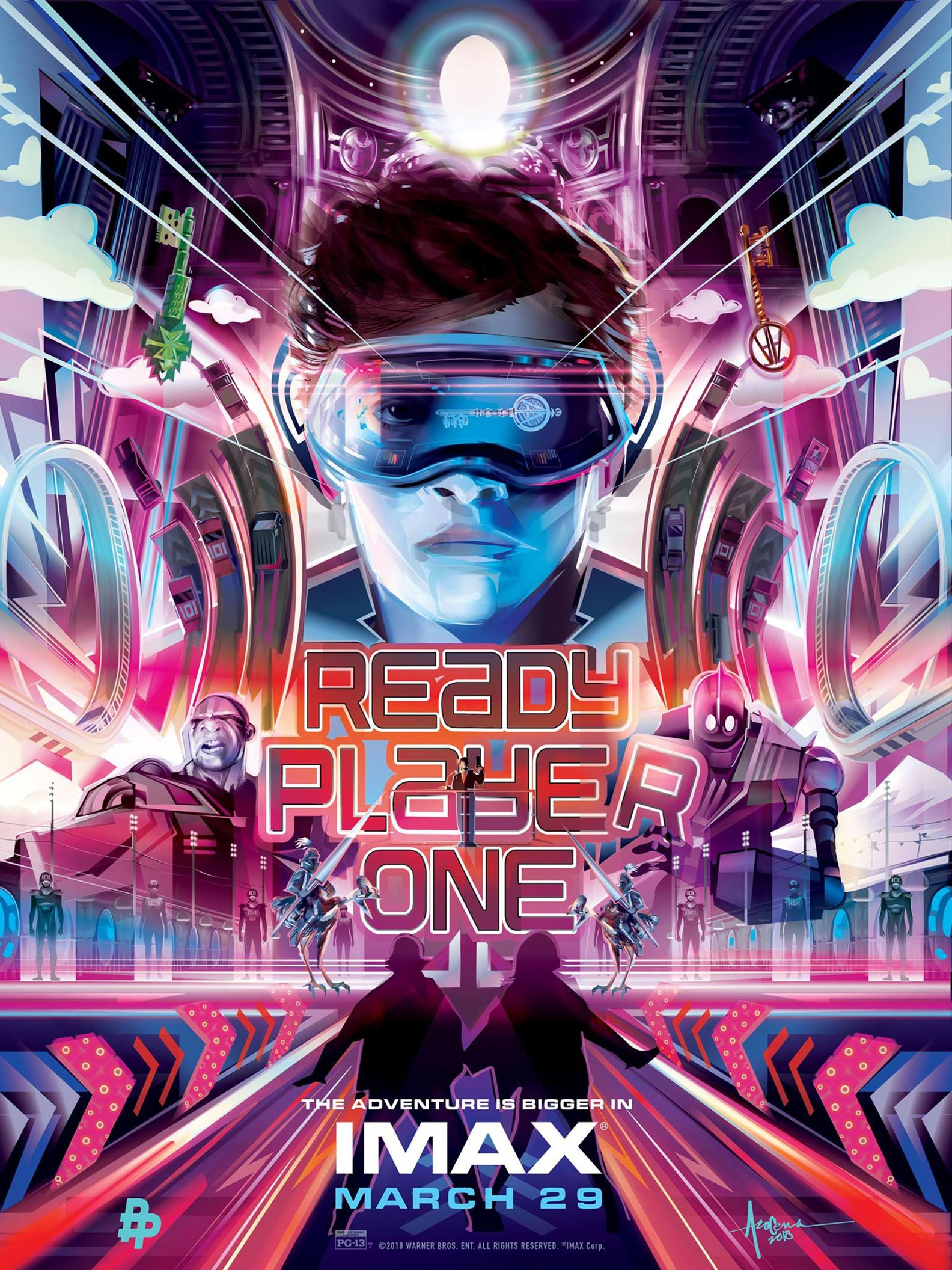 Ready Player One 2018 Poster 2 Trailer Addict